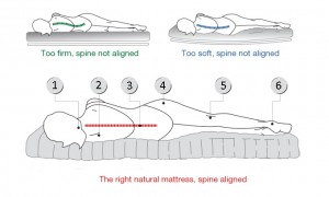 How your mattress impacts your spinal alignment